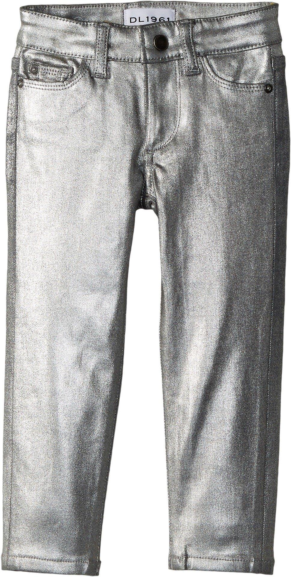 DL1961 Kids Baby Girl's Chloe Skinny Jeans in Silverado (Toddler/Little Kids) Silverado 3T