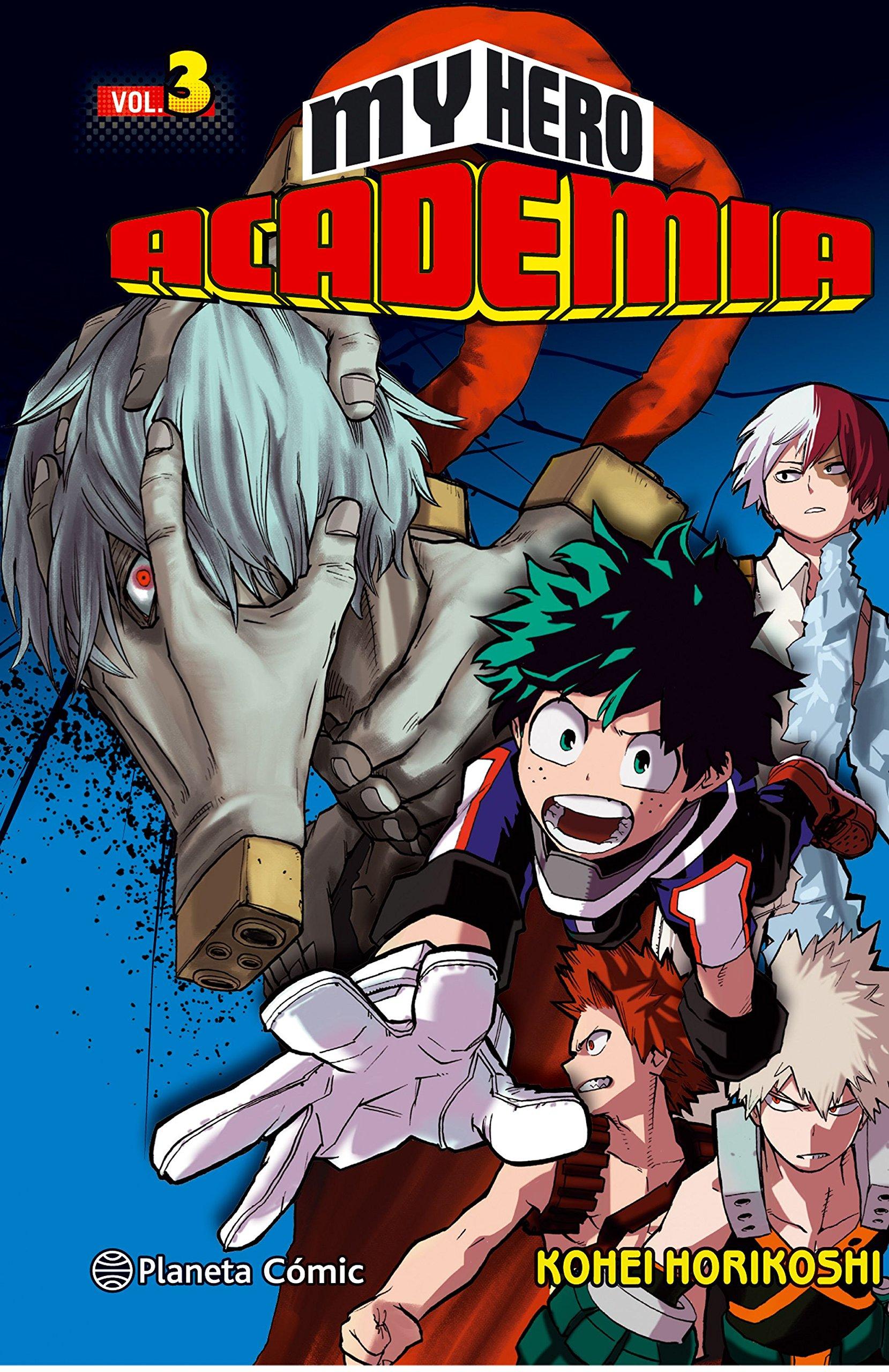 My Hero Academia nº 03 (Manga Shonen) Tapa blanda – 21 feb 2017 Kohei Horikoshi Daruma Planeta DeAgostini Cómics 8416816611