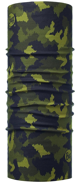Talla /Única Hombre Original Buff 115226.846.10.00 Tubular de Microfibra Verde