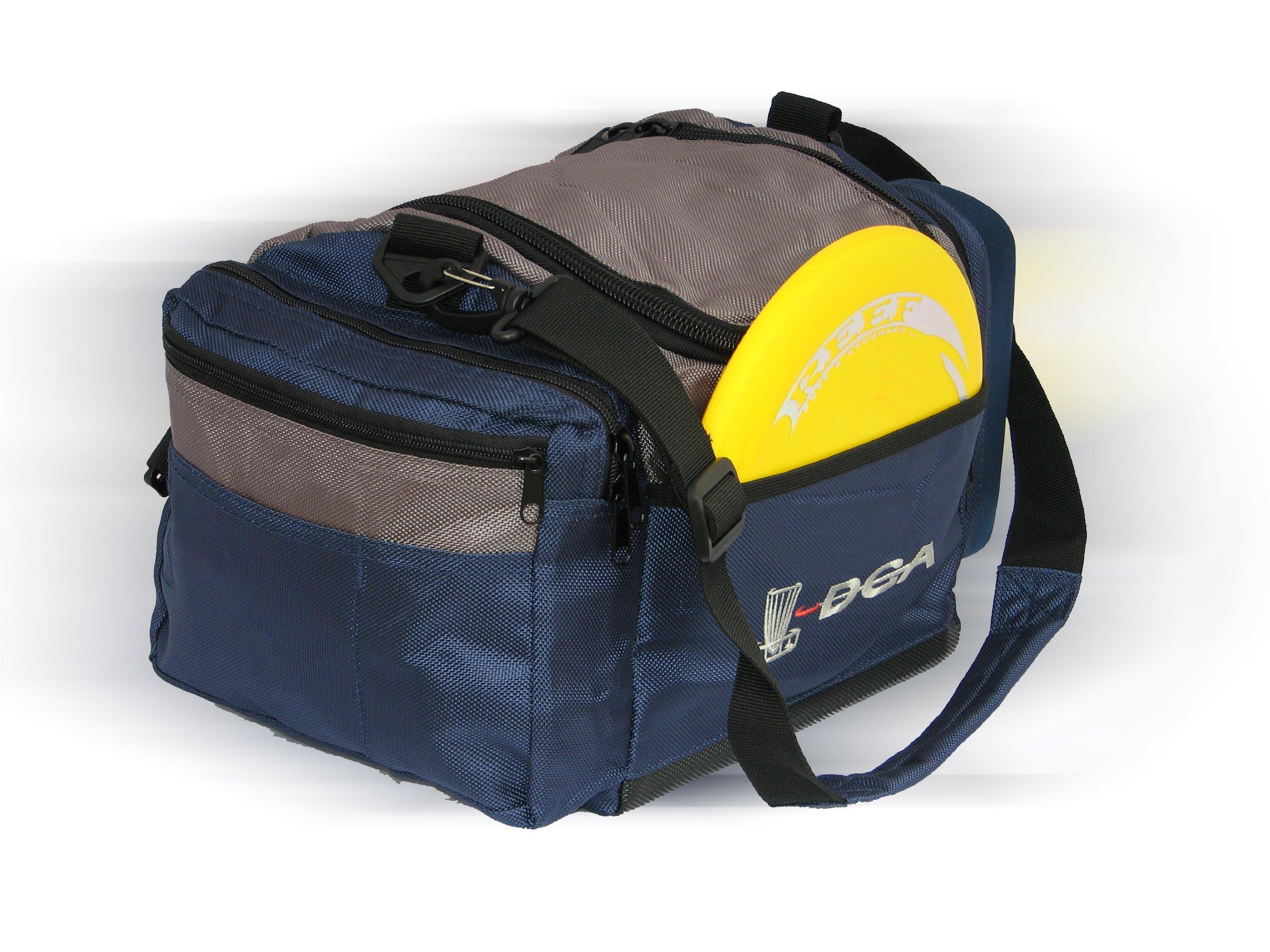 DGA Elite Shield Disc Golf Bag (Navy) by DGA