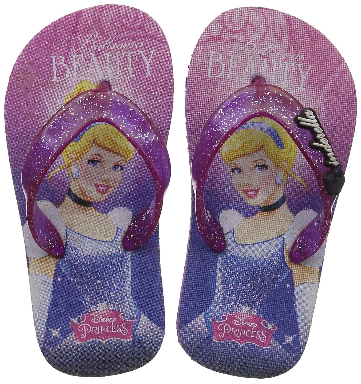 Disney Girl's Sally Red Indian Shoes - 8 Kids UK/India (26 EU)(3710054)