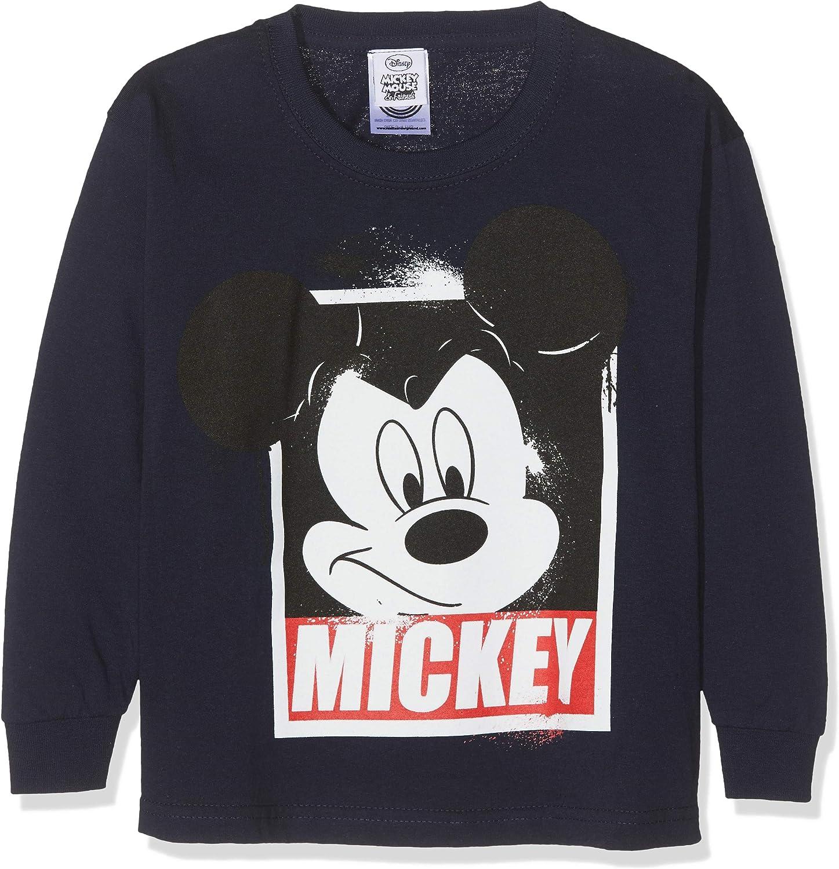 Mickey Mouse Disney - Jersey de Manga Larga diseà niños: Amazon.es ...