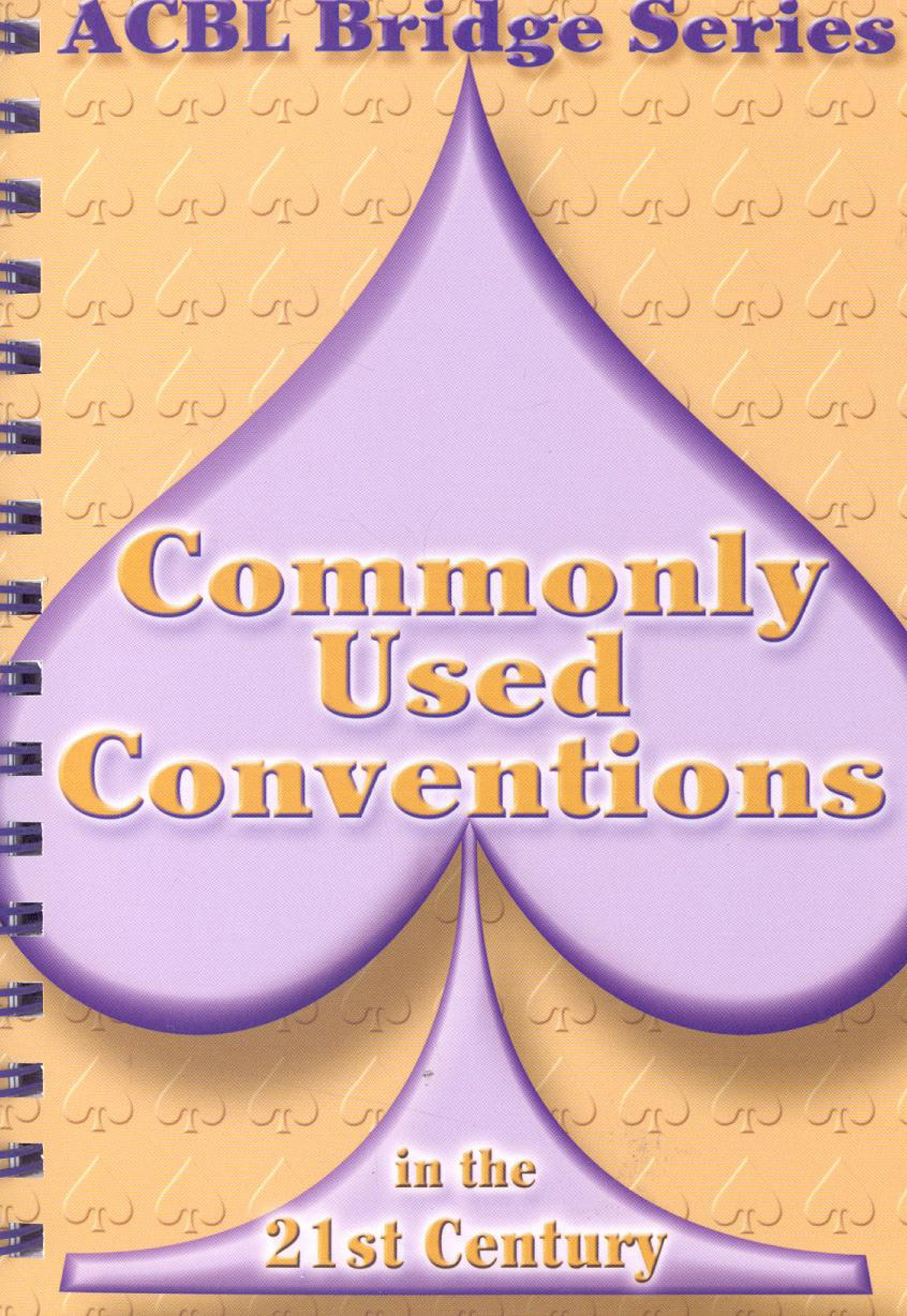 Commonly Used Conventions In The 21st Century The Spade Series