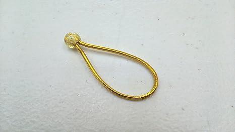 lefreQue Elastic Band Gold 45 mm Klangbrücke Sopransaxophon Trompete Waldhorn