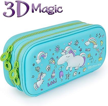 PracticOffice - Estuche Portatodo 3D Magic Multicompartimento de ...