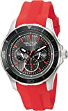 Nautica Men's NAD13521G NST 10 Analog Display Quartz Red Watch