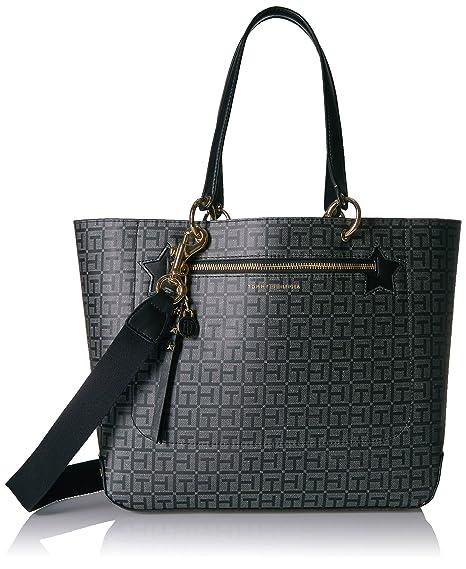 90b1e3e83207d9 Tommy Hilfiger Women s Multi-Colour Tote Bag (6940056-990)  Amazon ...