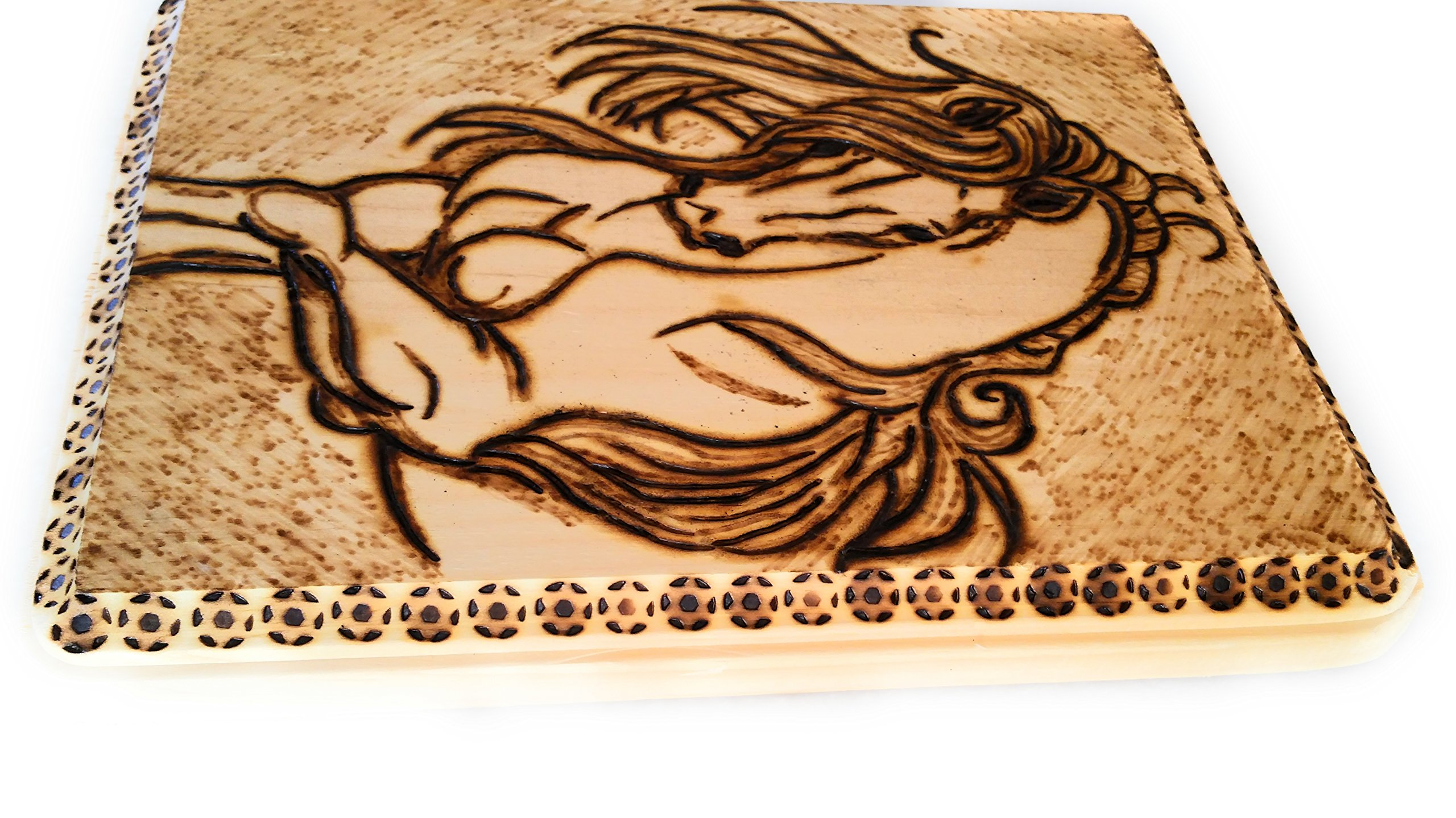 Home Decor Wood Burned Wall Hanging by Cimber's Home Decor+More (Image #4)