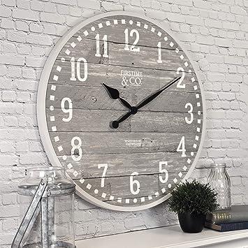 Amazon.com: FirsTime & Co. 25708 Reloj de pared de color ...