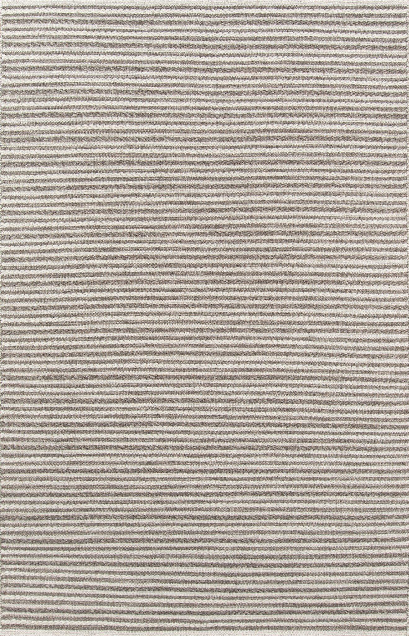 Momeni Rugs MESA0MES-3NAT5080 Mesa Collection, 100% Wool Hand Woven Flatweave Transitional Area Rug, 5' x 8', Natural Brown by Momeni Rugs (Image #1)