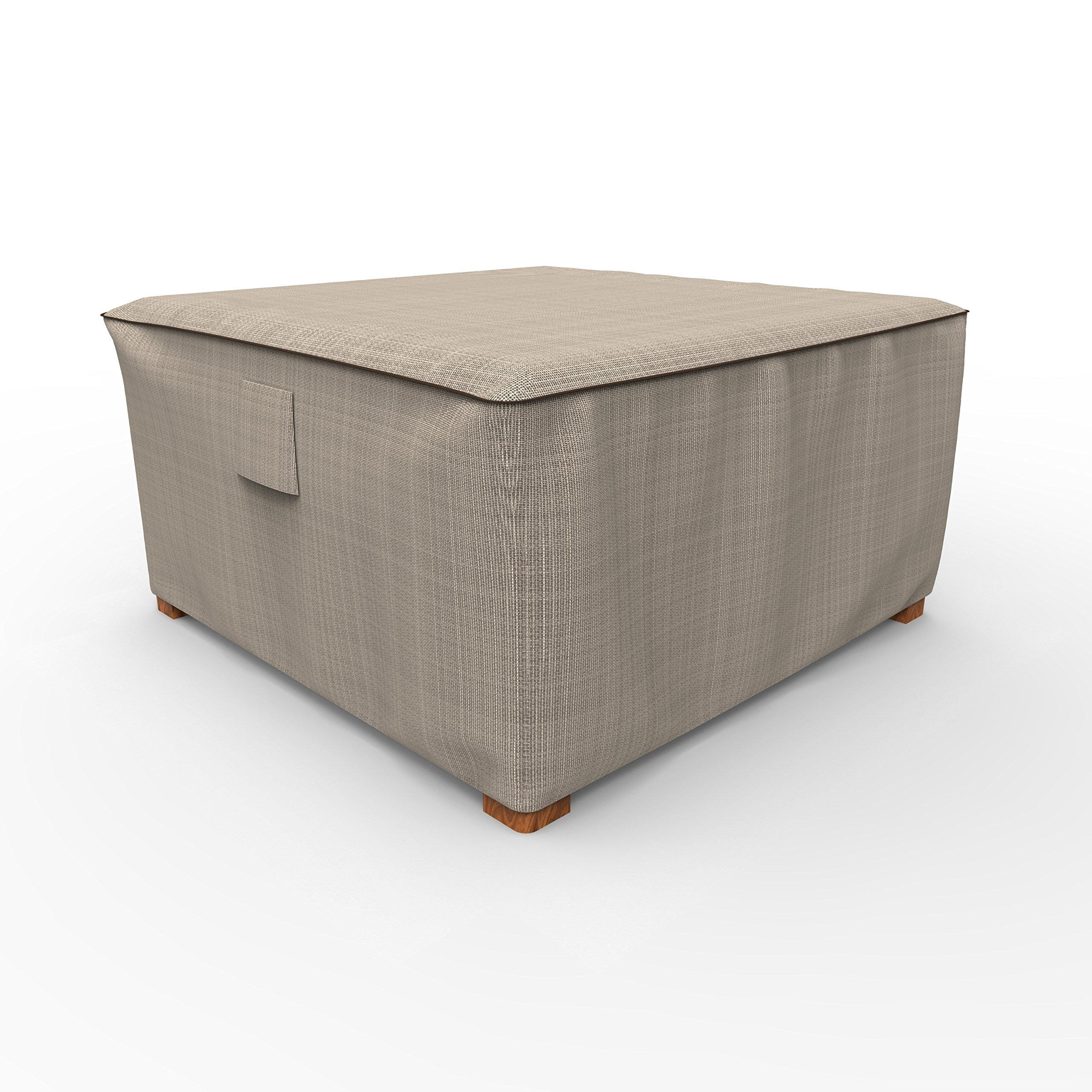EmpirePatio P4A02PM1 Tan Tweed Extra Large Ottoman Cover