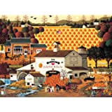 Buffalo Games Charles Wysocki, Pumpkin Hollow - 1000pc Jigsaw Puzzle