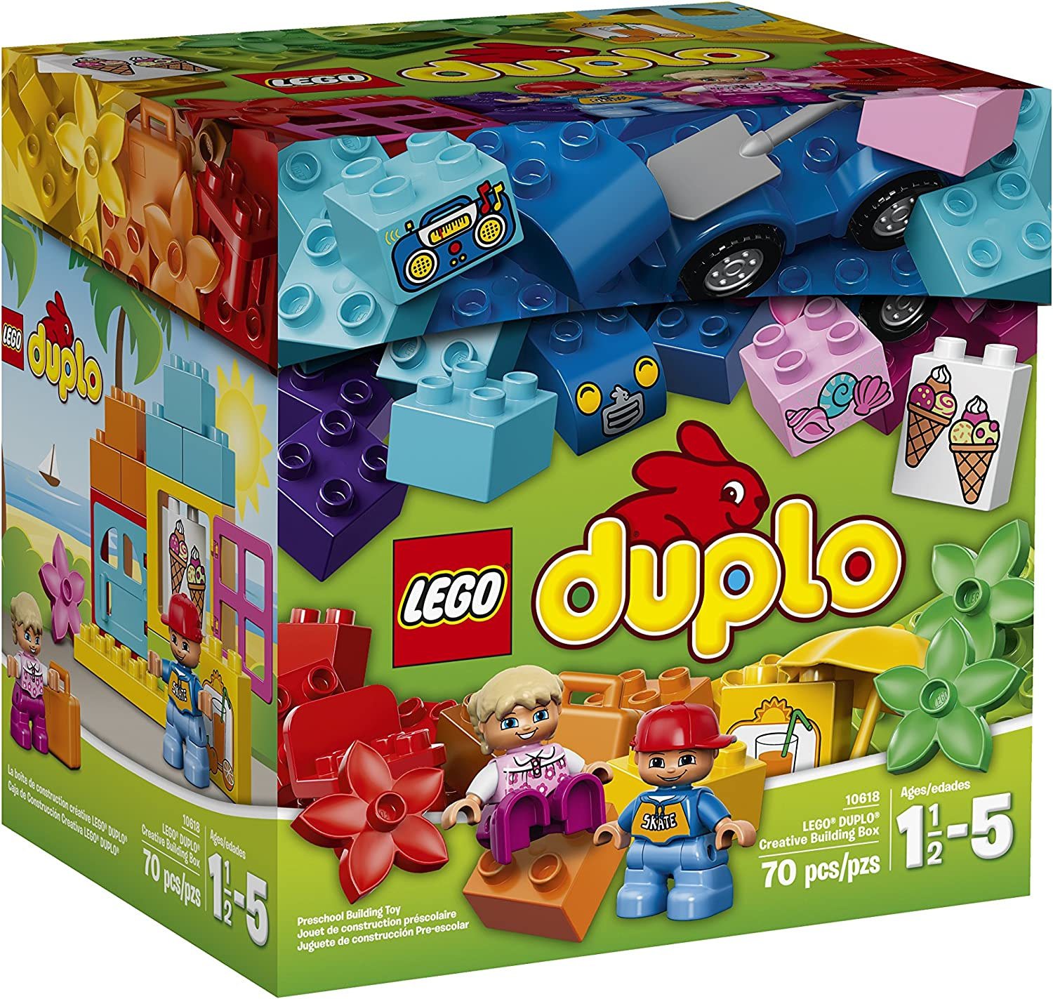 LEGO DUPLO My First 10618 Creative Building Box (Discontinued by manufacturer) by LEGO: Amazon.es: Juguetes y juegos