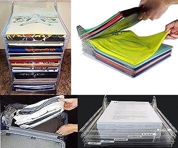 Takestop set pièces organisateur ezstax pour vêtements armoire