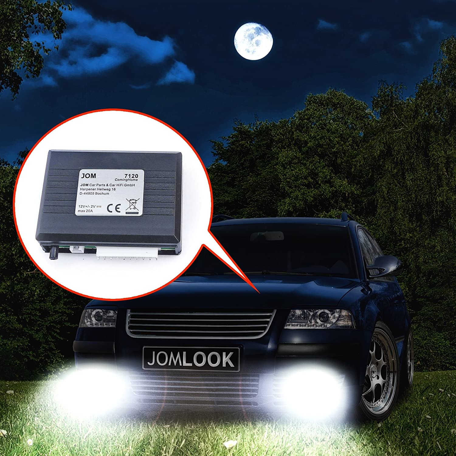 JOM Coming Home Leaving Home Modul mit Lichtsensor Smart