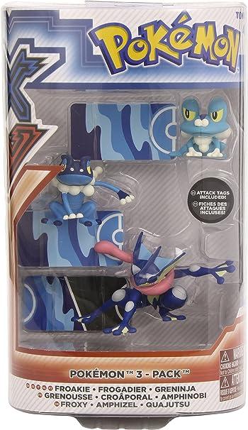 Pokémon - Pack XY Evolution de figuras (Bizak 6618538) (modelos ...
