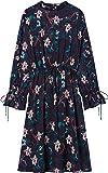 FIND Vestito a Fiori Multicolore Donna