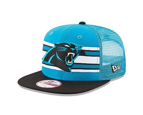 Amazon.com   New Era NFL Carolina Panthers Throwback Stripe 9FIFTY ... c1edea444