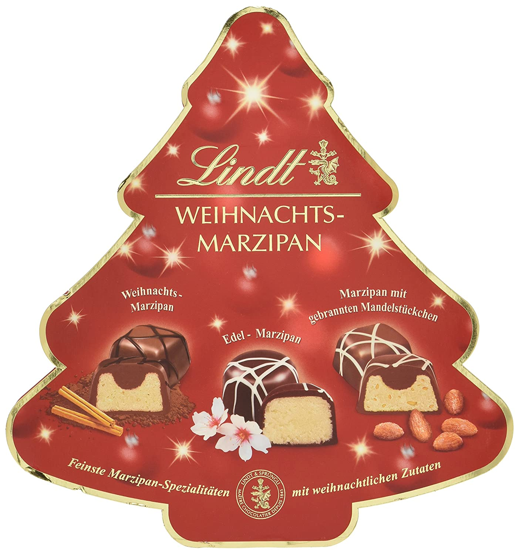 Lindt Weihnachts Marzipan Selection, 175 g: Amazon.de: Lebensmittel ...