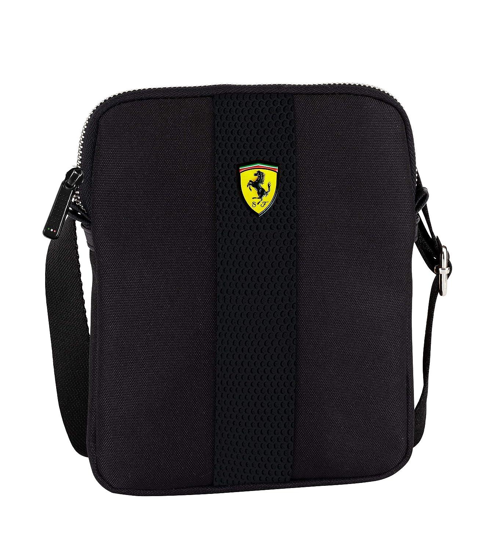 Ferrari BORSELLO Crossover Piatta Nera in Poliestere Ufficiale Scuderia