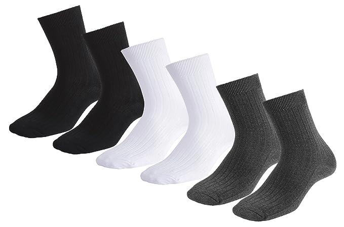 TAIPOVE Calcetines hasta la Pantorrilla Hombre Calcetines Hombre Casual Algodón Multicolor EU 37-50: Amazon.es: Ropa y accesorios