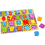 Number Puzzle – Wooden Educational 1-20 Number Puzzle Toy