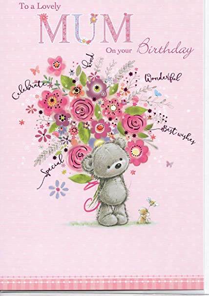 Tarjeta de felicitación de cumpleaños para madre a madre (17 ...