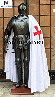 nautique Mart médiéval Chevalier Noir Costume d'Armour Wearable Halloween