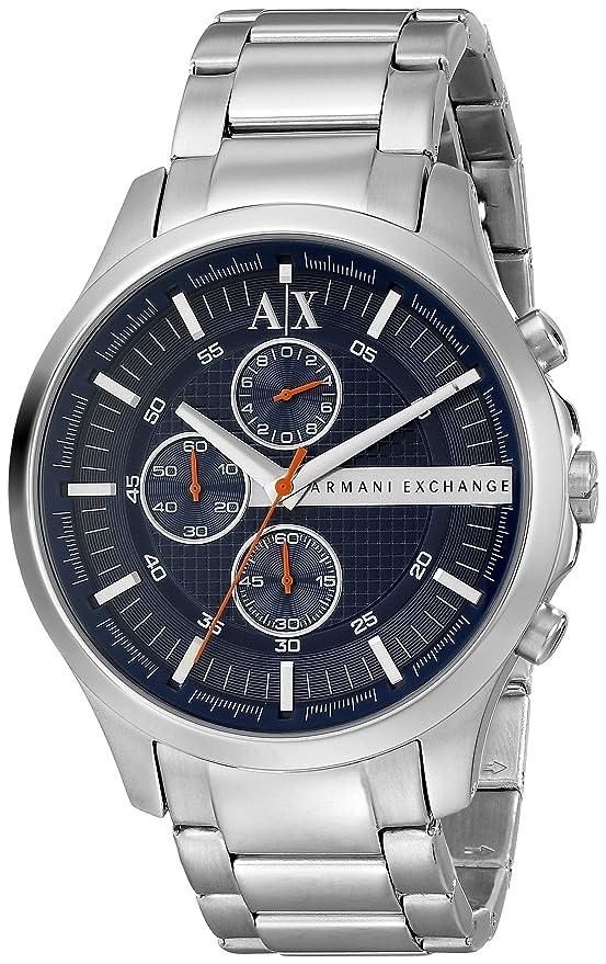 Amazon.com: Armani Exchange de los hombres ax2155 Analog ...