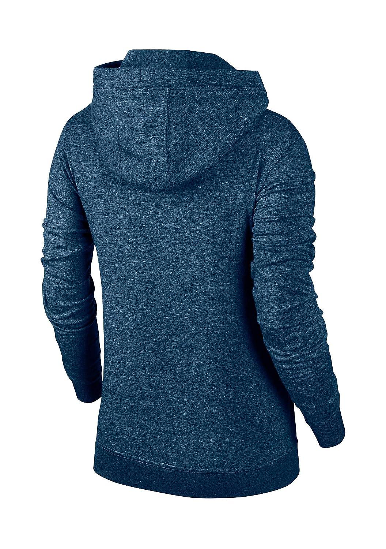 9ce4222e3c84 Amazon.com  Nike Women s Funnel-Neck Fleece Sweatshirt Hoodie (Small ...