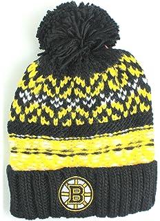 f311cfc756d28 Amazon.com   NHL Reebok Big Boys Youth (8-20) Face Off Cuffed Knit ...