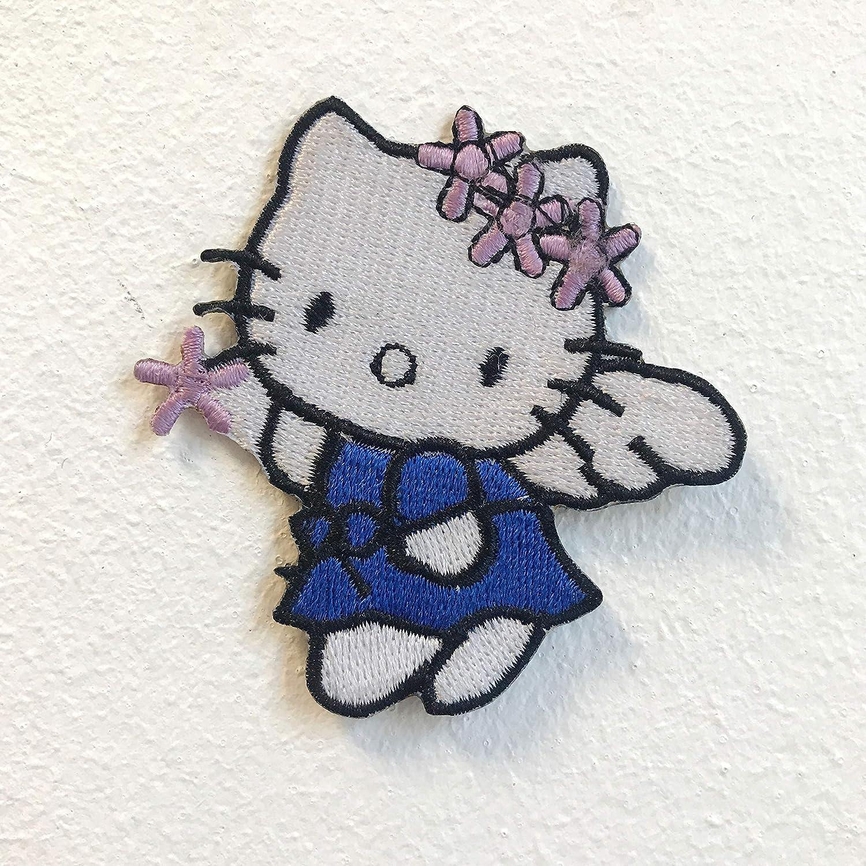 Hello Kitty Angel - Parche bordado para coser o planchar, color ...