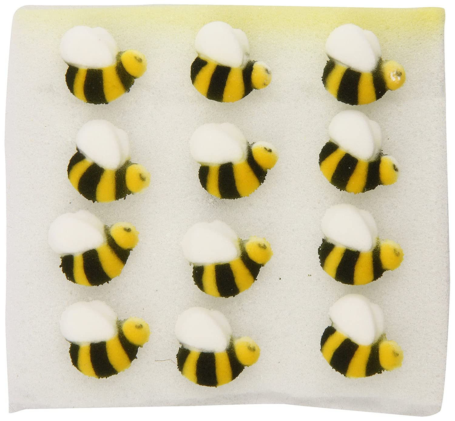 Lucks Sugar Decorations Bumble Bee 24 Count Amazon Grocery Gourmet Food
