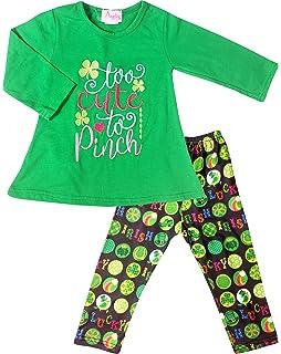 Boutique Clothing Girls St. Patrick s Day Outfit - Top Pants 2pc Set -  Exclusive Designer s db14cf4e735e