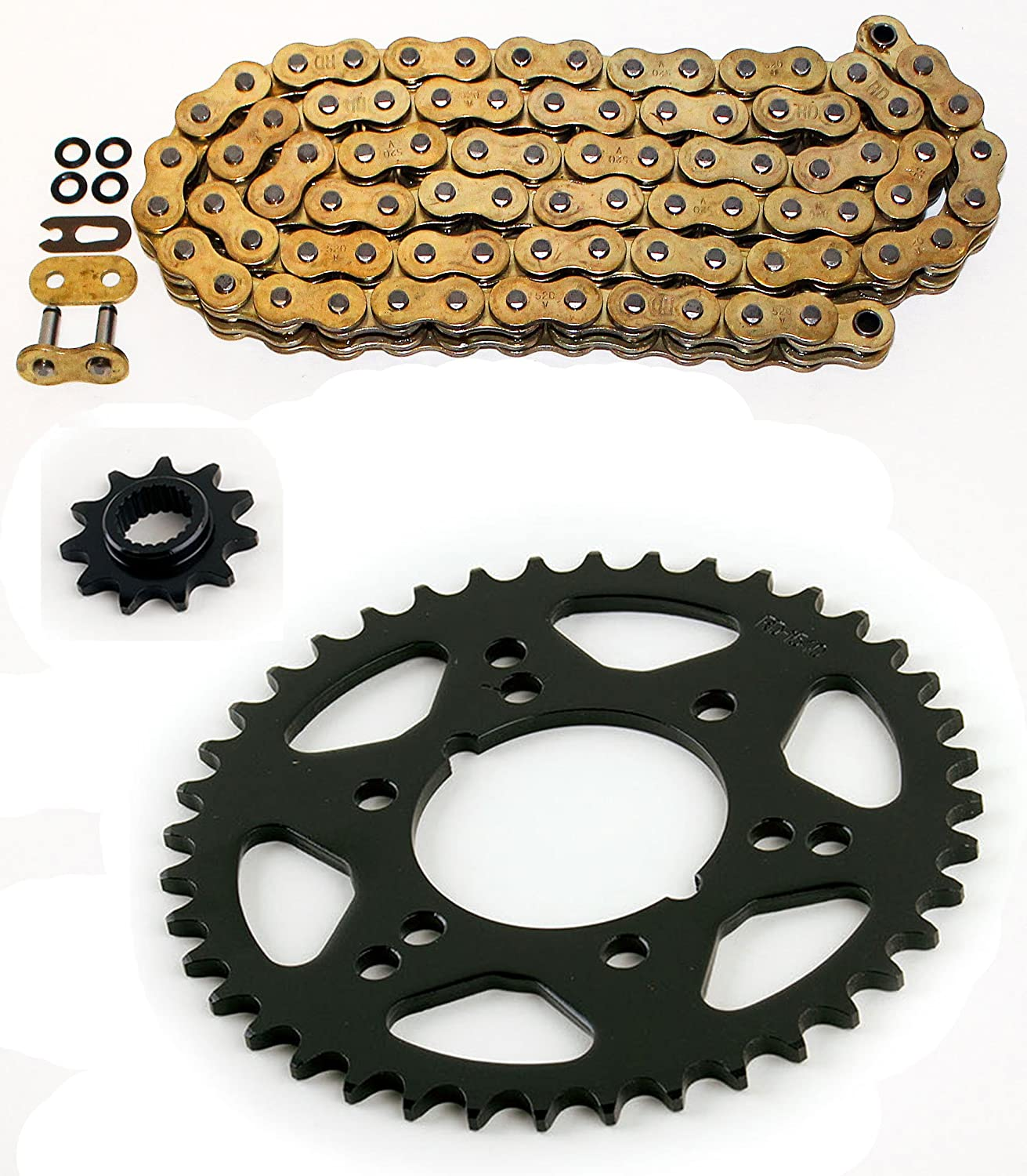 2003-2009 Polaris Trail Boss 330 O-Ring Chain And Sprocket Set 78L Race-Driven