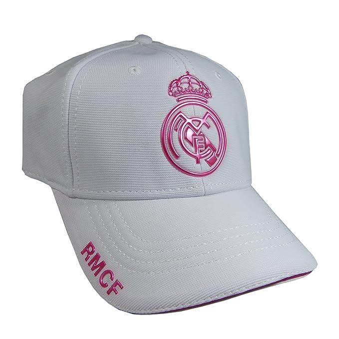 Gorra Real Madrid Mujer  Amazon.es  Ropa y accesorios f61055829ba