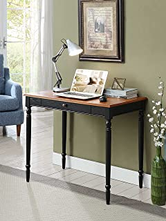 Convenience Concepts French Country Desk, 36 Inch, Two Tone
