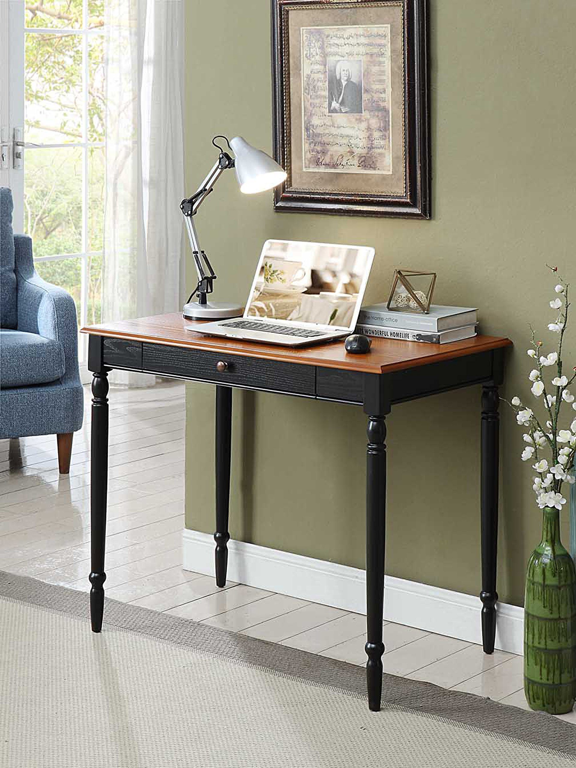 Convenience Concepts French Country Desk, 36-Inch, Two-Tone by Convenience Concepts