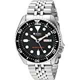 SEIKO Men's Black Boy automatic diver's watch SKX007K2