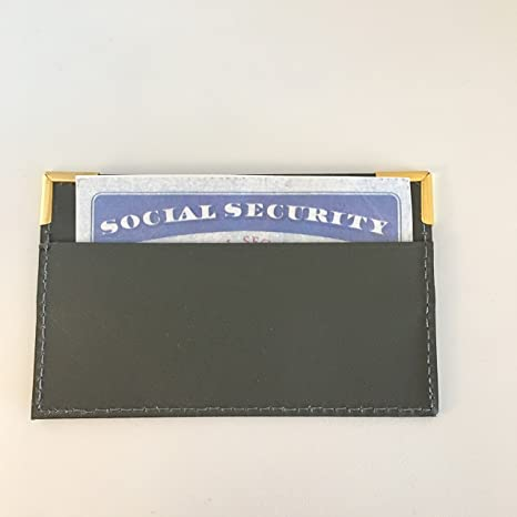 Amazon.com: Seguridad Social titular de la tarjeta x2 por ...