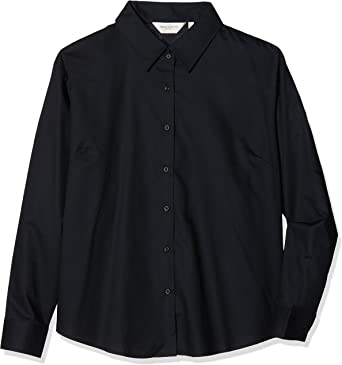 Russell Collection, Camisa para Mujer, Negro, XXL: Amazon.es ...