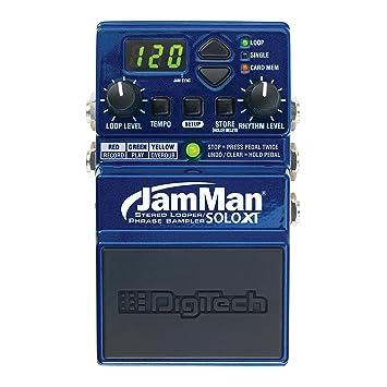 Digitech Jamman Solo XT Guitar Looper Pedal