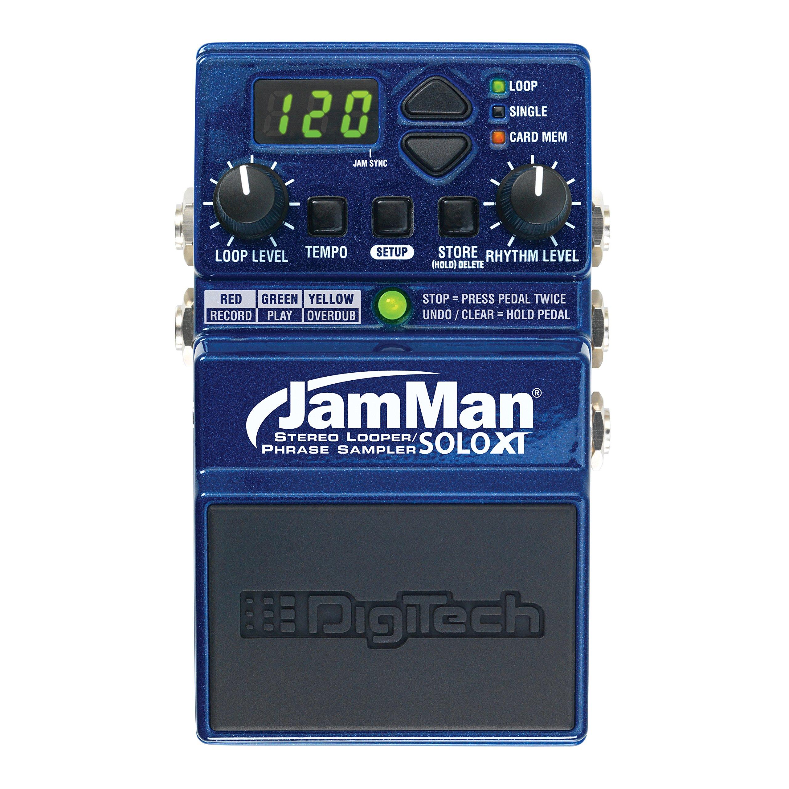 Digitech JMSXT Jamman Solo XT Stereo Looper Phrase Sampler Pedal by DigiTech