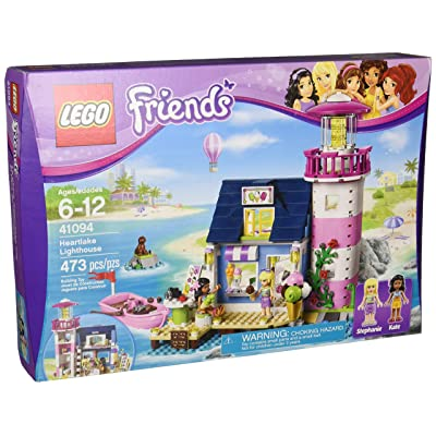 Lego Friends 41094 Heartlake Lighthouse: Toys & Games