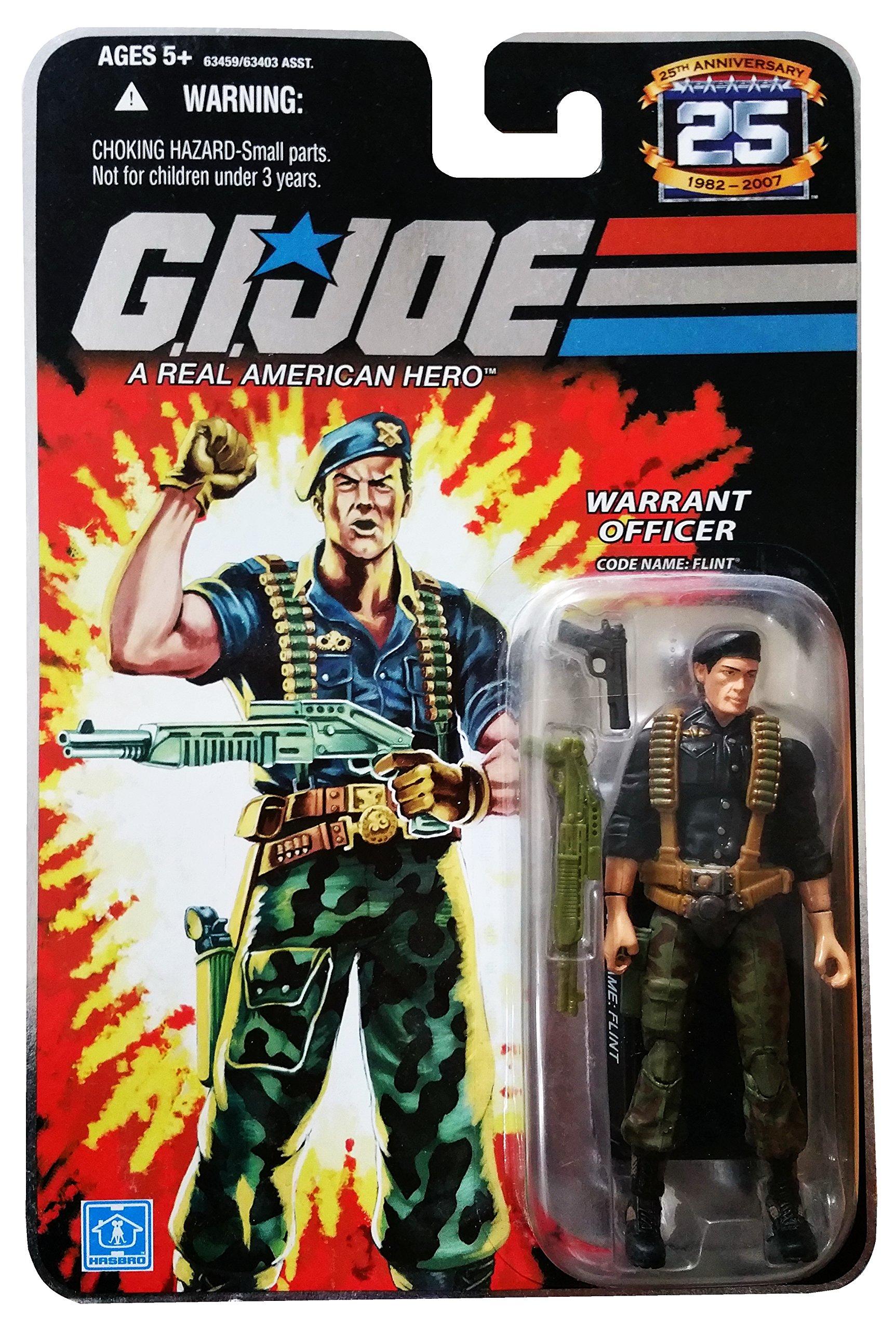 G.I. Joe 25th Anniversary: Flint (Warrant Officer) 3.75 Inch Action Figure
