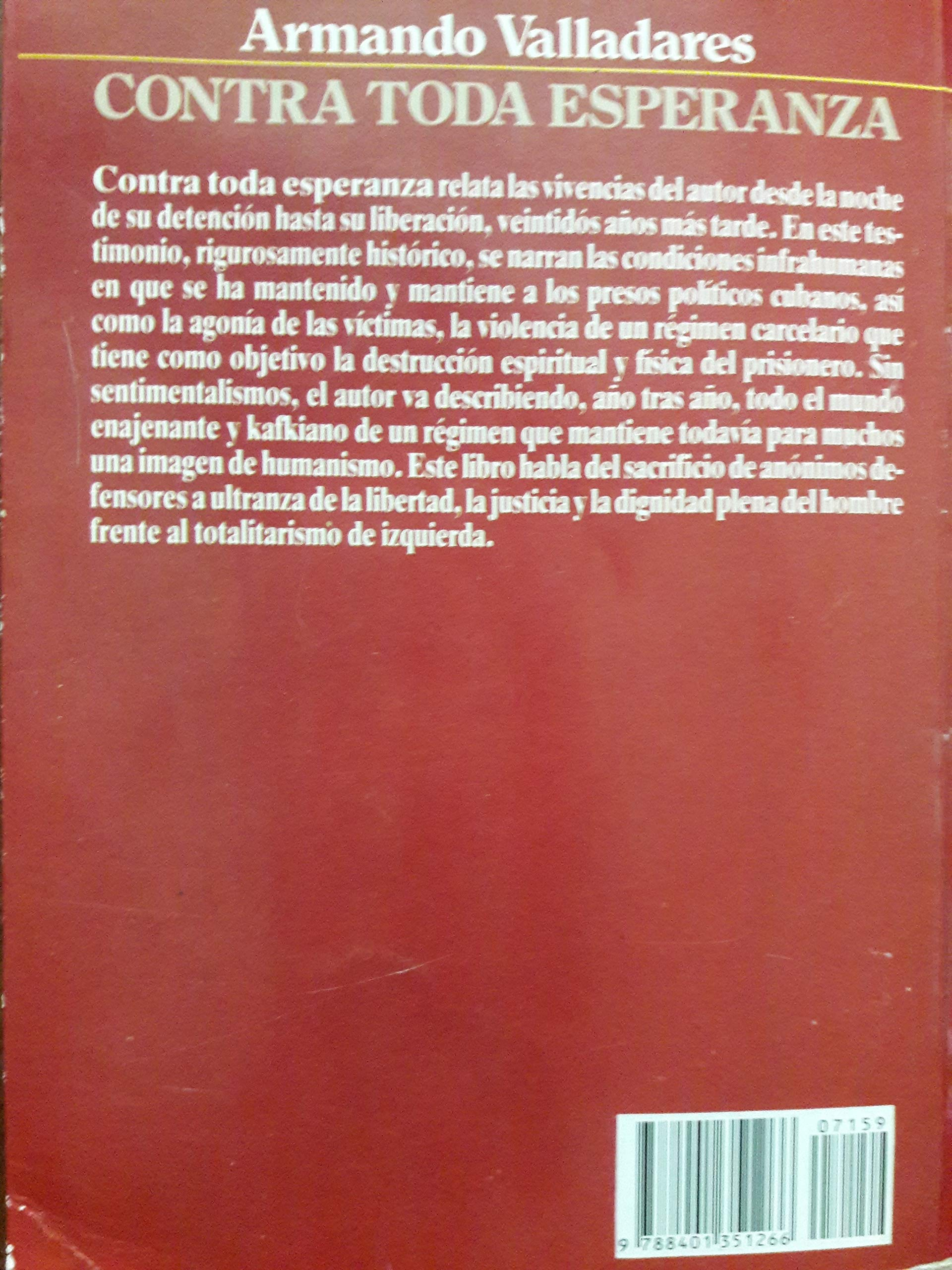 ARMANDO VALLADARES - MIS MEMORIAS: ARMANDO VALLADARES: Amazon.com: Books