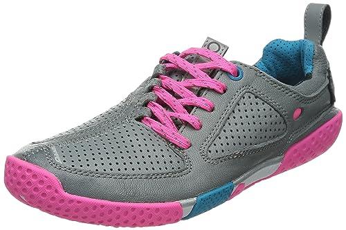 Skora Form W - zapatillas de running de cuero mujer, color gris, talla 38.5: Amazon.es: Zapatos y complementos