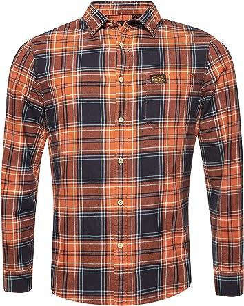 Superdry Hombre Camisa Workwear
