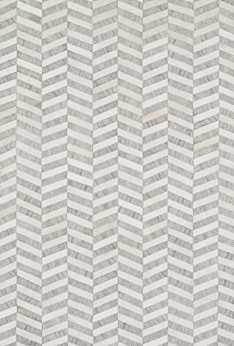 Loloi DORADO Area Rug, 9 -3 by 13 , Grey Ivory