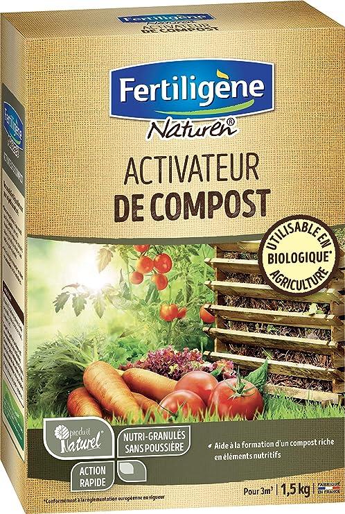 NATUREN – Activador de Compost orgánico enriquecido en nitrógeno ...